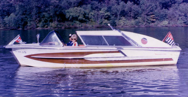 On the Monongahela River, A 1968 Photo fo a 1960 Century Coronado Powered by ...